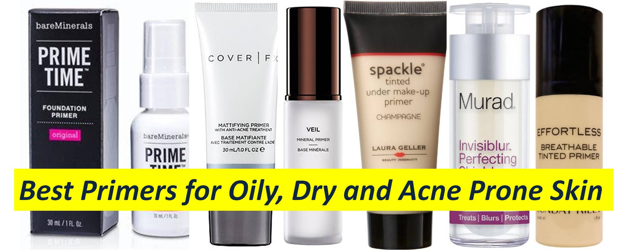 best oil free primer for acne prone skin