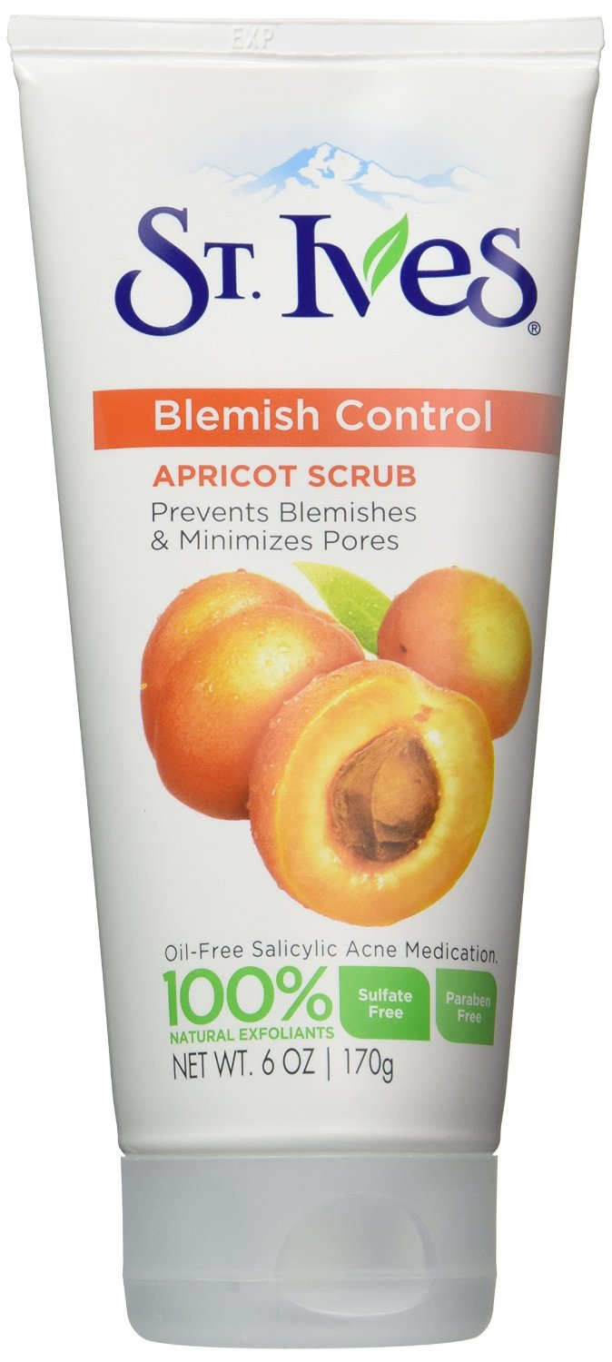 Best Facewash for Blackheads St. Ives Blemish & Blackhead Control Apricot Scrub