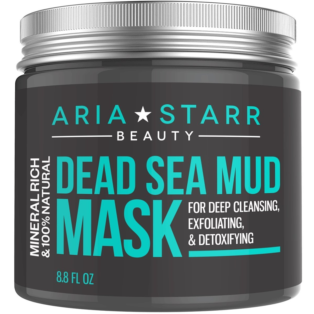 Best Facewash for Blackheads Aria Starr Beauty Dead Sea Mud Mask For Face