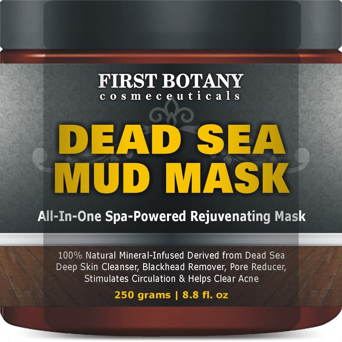 Best Facewash for Blackheads 100% Natural Mineral-Infused Dead Sea Mud Mask
