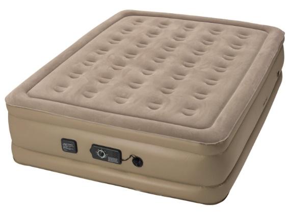 Most Comfortable Air Mattress Insta-Bed Raised Air Mattress with Never Flat Pump