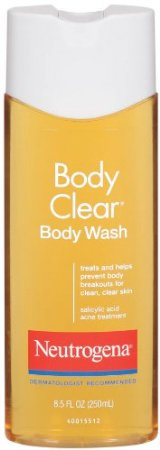 Best Body Wash for Acne Prone Skin Neutrogena Body Clear Body Wash