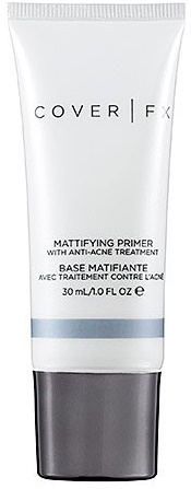 Best Primers for Oily, Dry and Acne Prone Skin COVER FX Mattifying Primer with Anti-Acne Treatment
