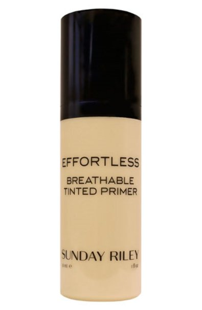 Best Primers for Oily, Dry and Acne Prone Skin Sunday Riley Effortless Breathable Tinted Primer-Medium