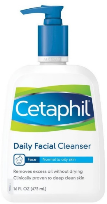 Facewash For Oily Skin Cetaphil Daily Facial Cleanser, For Normal to Oily Skin, 16 Ounce (Pack of 2)