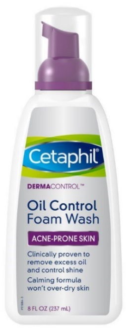 Facewash For Oily Skin Cetaphil Dermacontrol Foam Wash, 8 Fluid Ounce