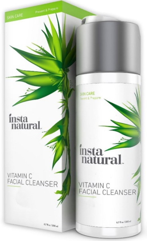 Facewash For Oily Skin InstaNatural Vitamin C Facial Cleanser