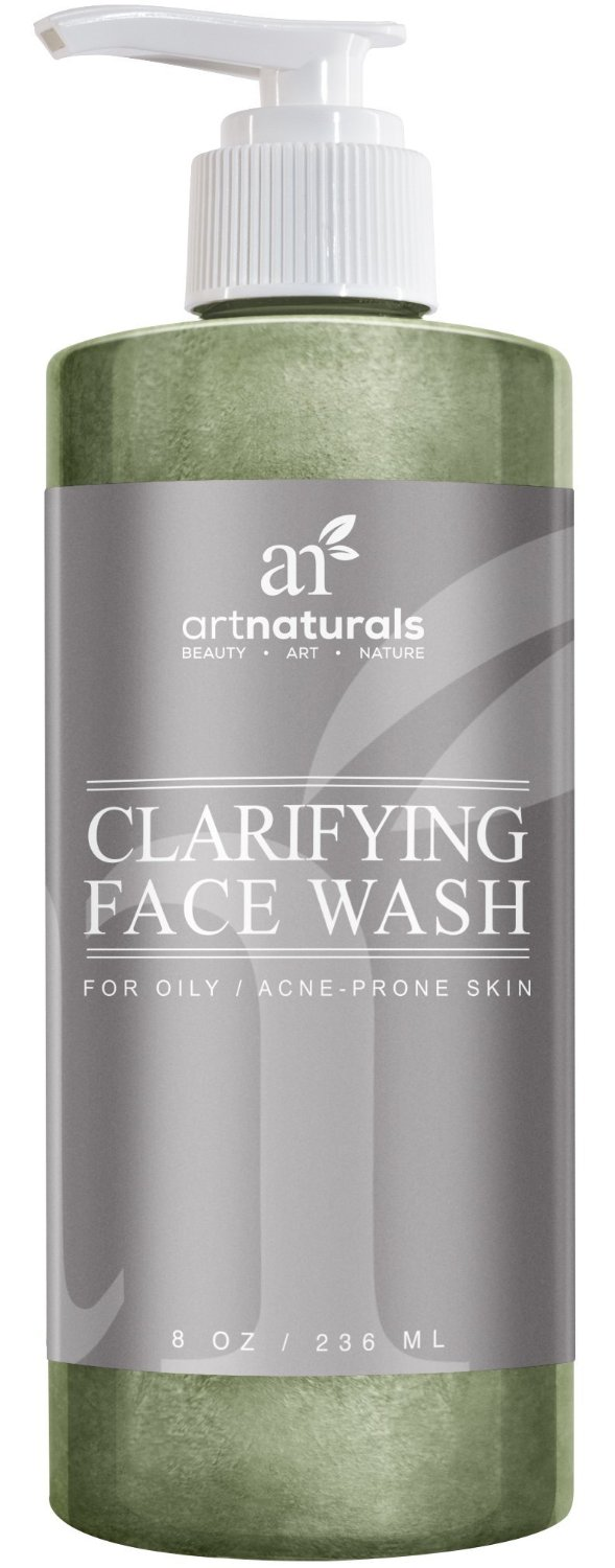 Facewash For Your Oily Skin Art Naturals Clarifying Acne Face Wash 8oz