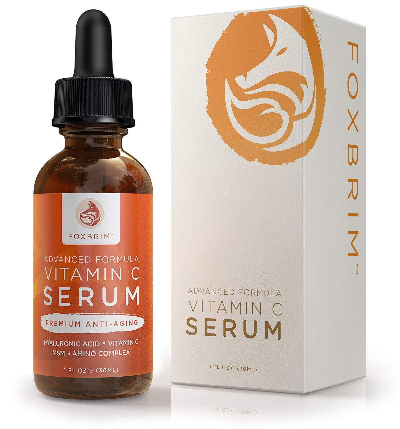 Vitamin C For Face Reviews Foxbrim Vitamin C Serum for Face