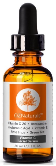 Vitamin C For Face Reviews OZNaturals- Vitamin C Serum 20% Vitamin C + Hyaluronic Acid