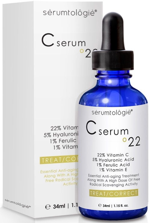 Vitamin C Serum for Face Reviews Vitamin C serum 22 by serumtologie® Anti Aging Moisturizer
