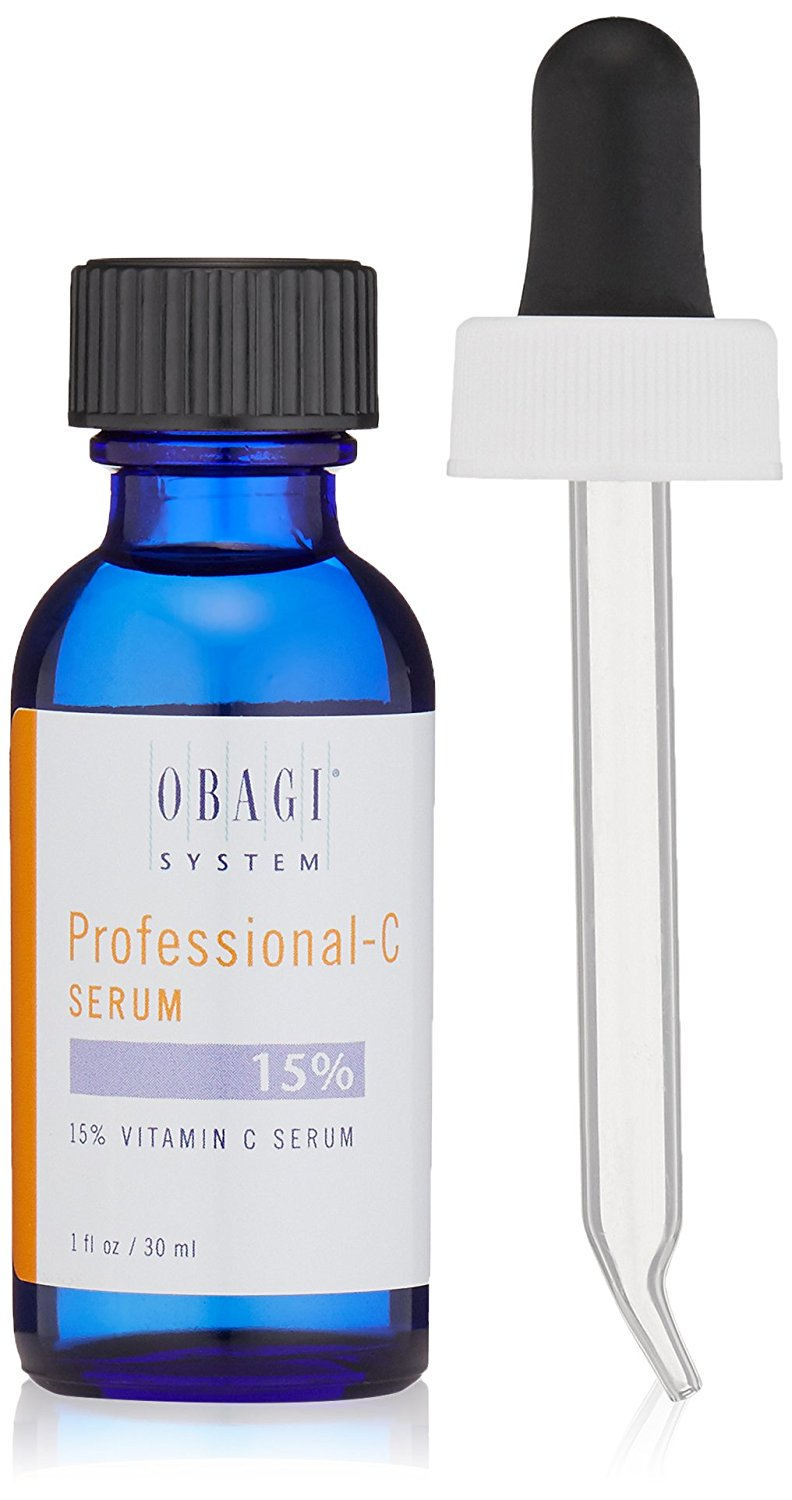 Vitamin C serum for face with Hyaluronic Acid Obagi Professional-C Serum 15%, 1 fl. oz.