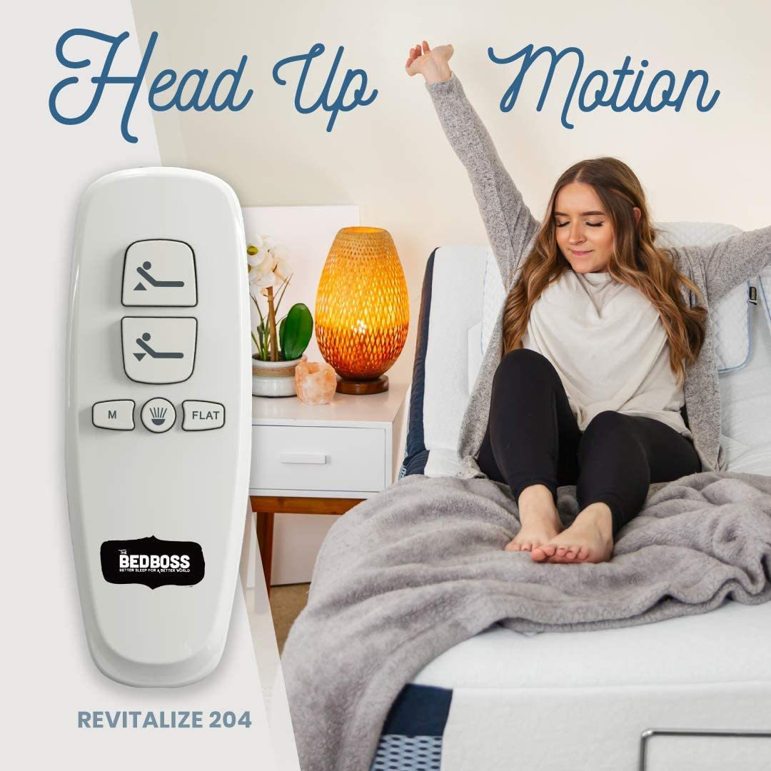 BED BOSS Revitalize 204 Review - Remote Control
