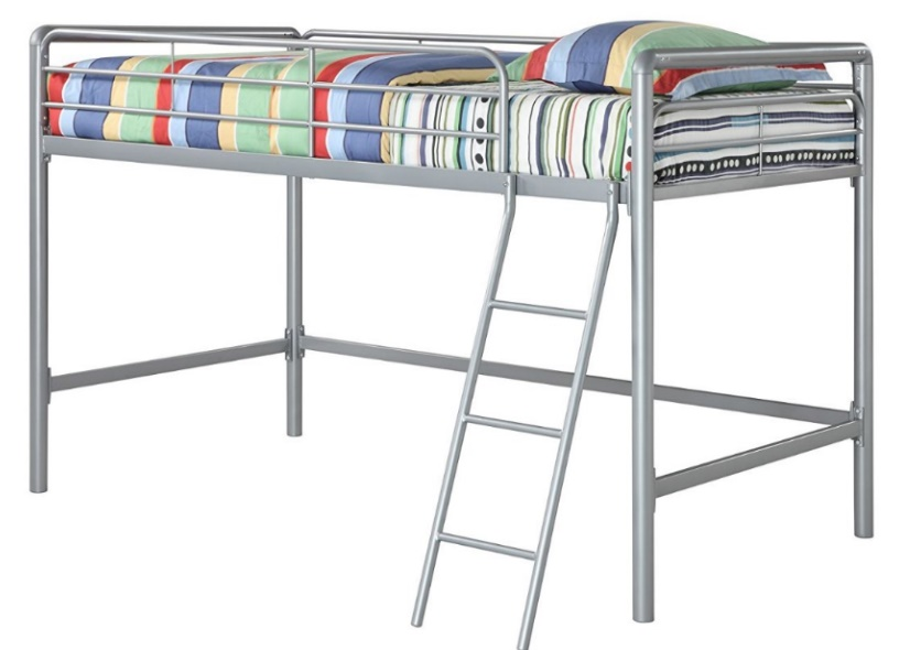 Best Bunk Beds DHP Junior Loft Bed Frame With Ladder