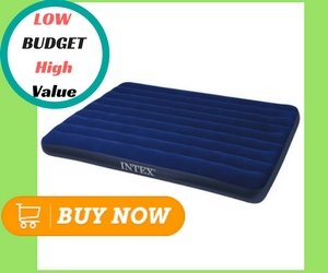 Best Camping Air Mattresses_Intex Classic Downy Airbed, Queen