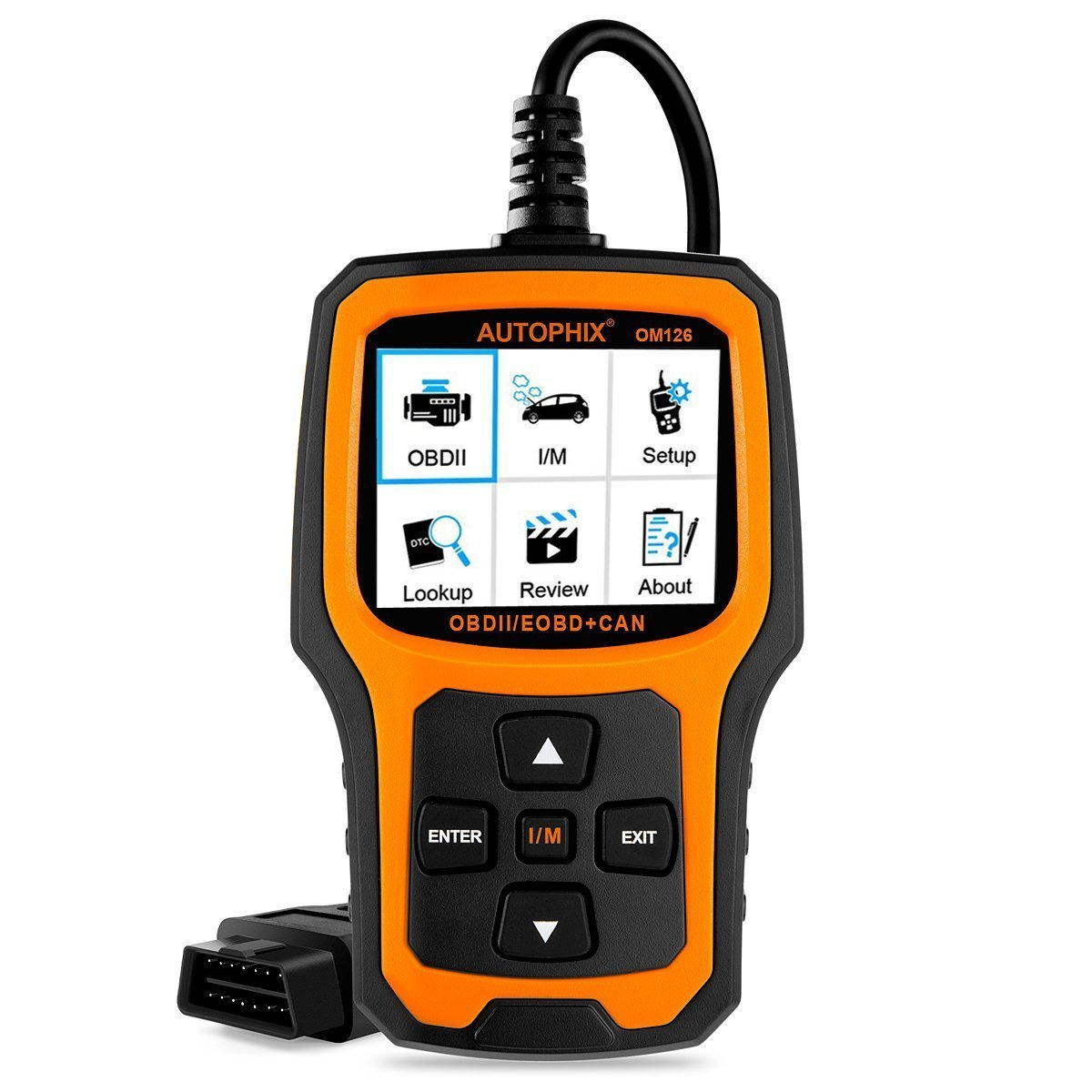 Best Car Diagnostic Tool AUTOPHIX Code Reader OM126 OBDII OBD2 Scanner Car Engine Fault Code Reader