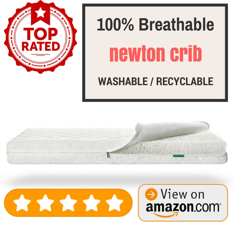 Best Crib Mattress Newton Crib Mattress & Toddler Mattress 100% Breathable Washable Recyclable made with Wovenaire