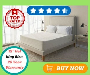 Best Gel Memory Foam Mattress Brentwood Home Bamboo Gel 13 Top Rated
