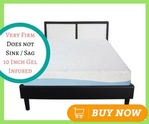 Best Gel Memory Foam Mattress Olee Sleep 10 Inch Gel Infused Layer Top