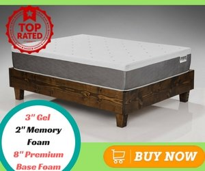 Best Memory Foam Mattress DreamFoam Mattress Ultimate Dreams 13-Inch