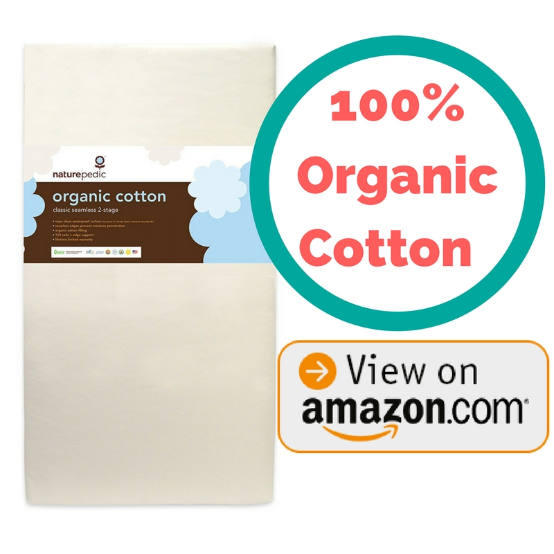 simmons organic crib mattress. best organic crib mattress naturepedic no compromise 100% cotton simmons