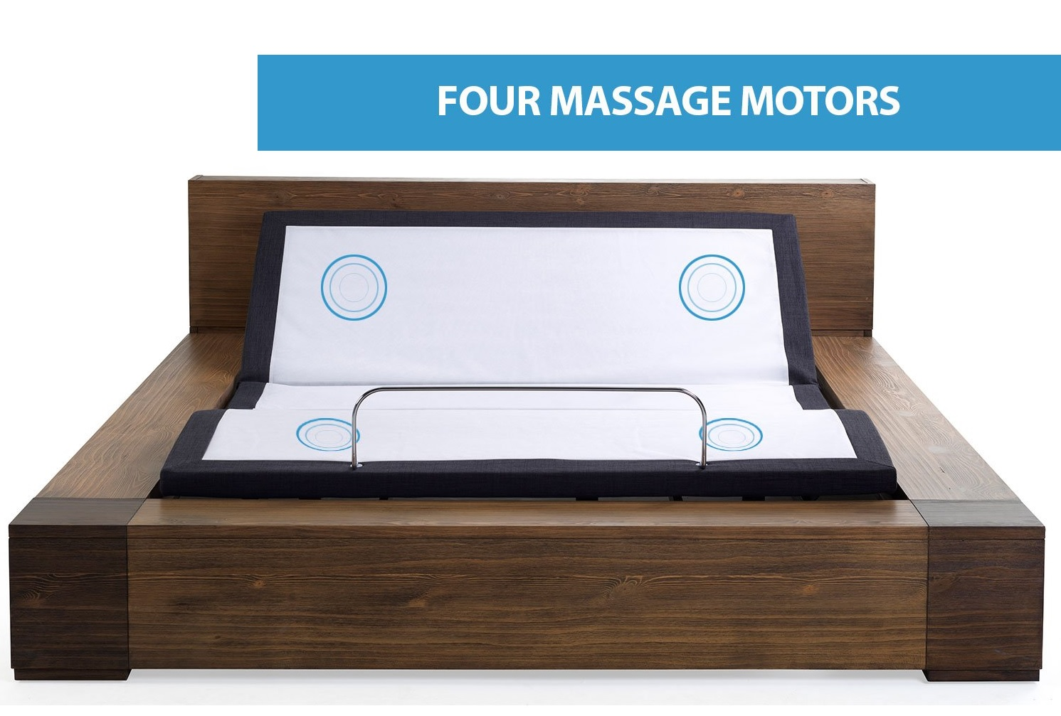 Blissful Nights Adjustable Bed Reviews - 4 Massage Motors