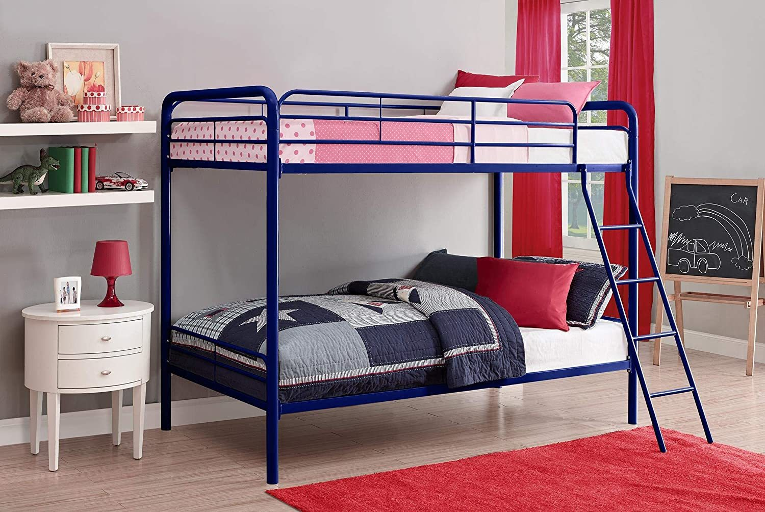 Bunk Beds Under $100 $150 $200 & $300 - DHP Bunk Bed - Twin-Over-Twin