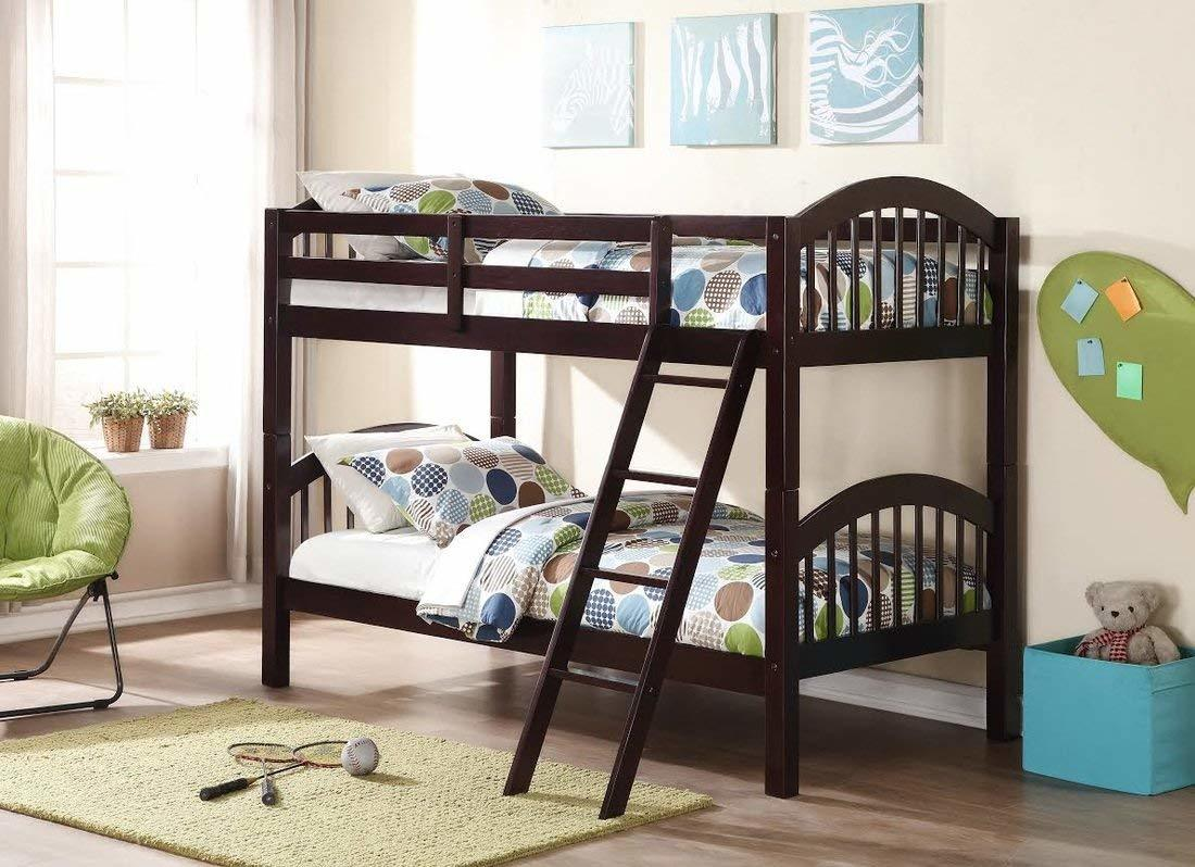 Bunk Beds Under $100 $150 $200 & $300 - Storkcraft Wooden Bunk Bed – Twin-over-Twin