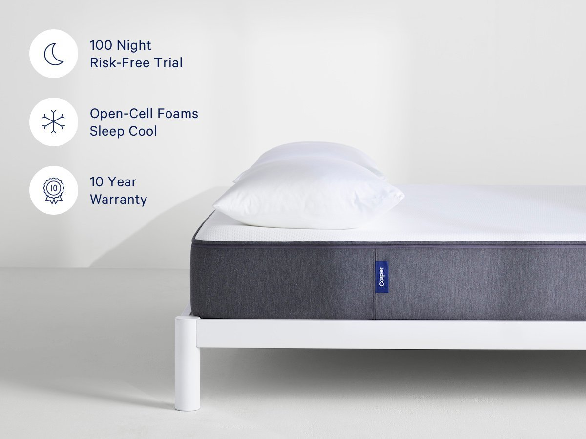 Casper Mattress Review - Trial Period and Warranty