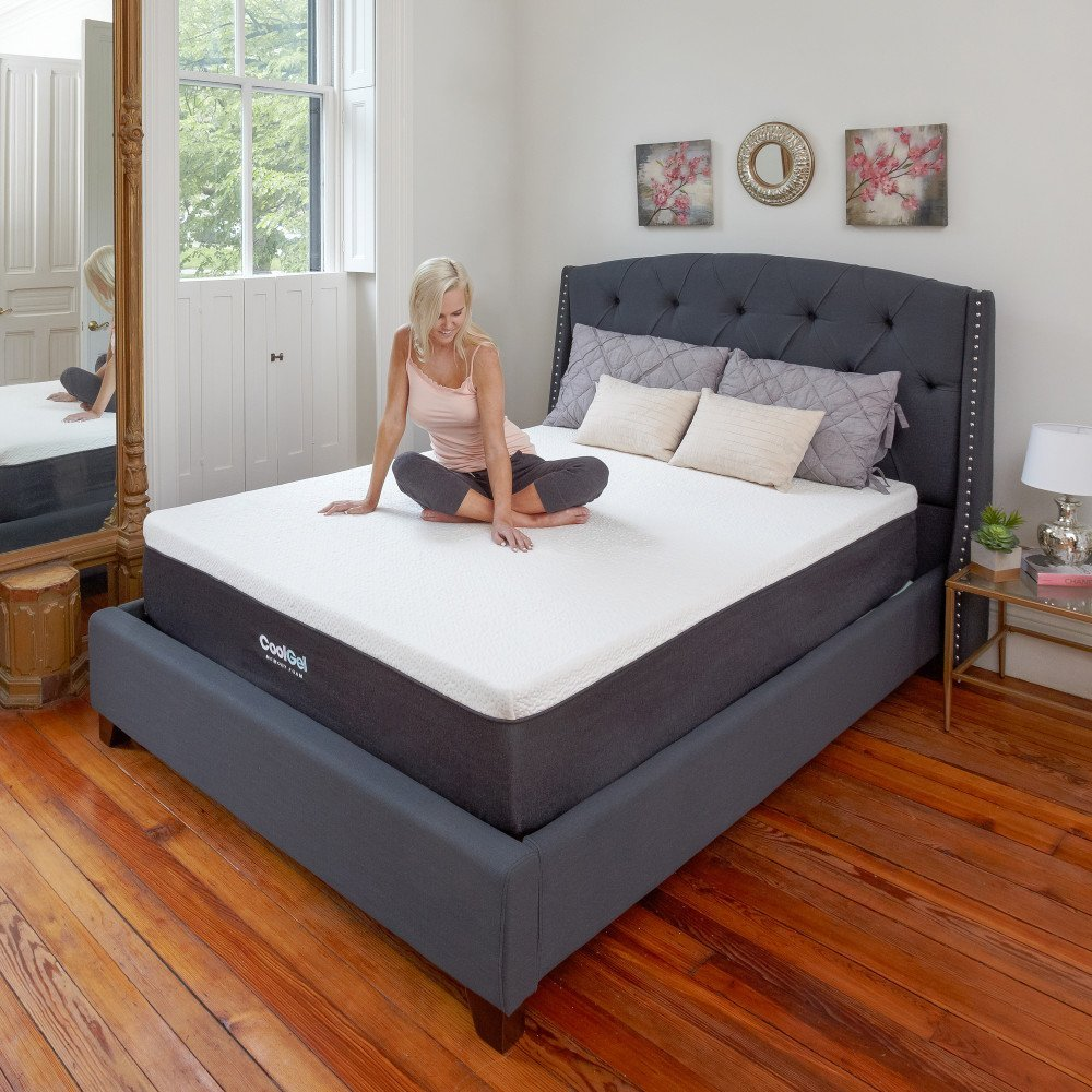 Classic Brands 12 Inch Gel Memory Foam Mattress Review