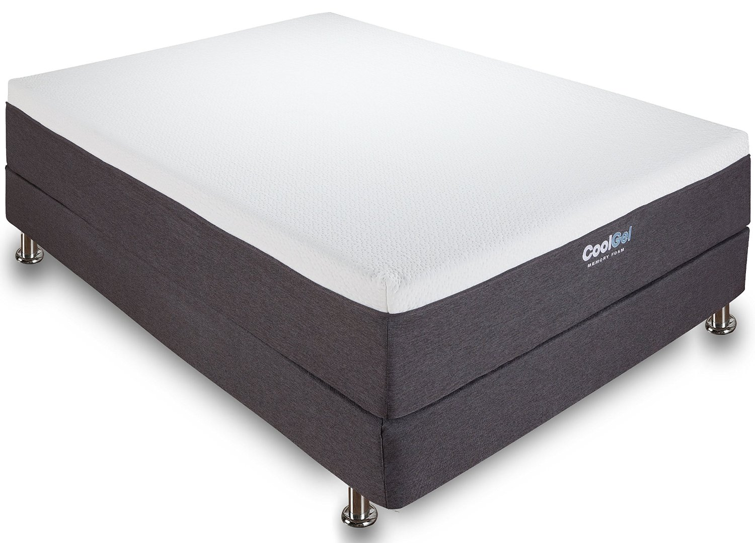 Classic Brands 12 Inch Gel Memory Foam Mattress