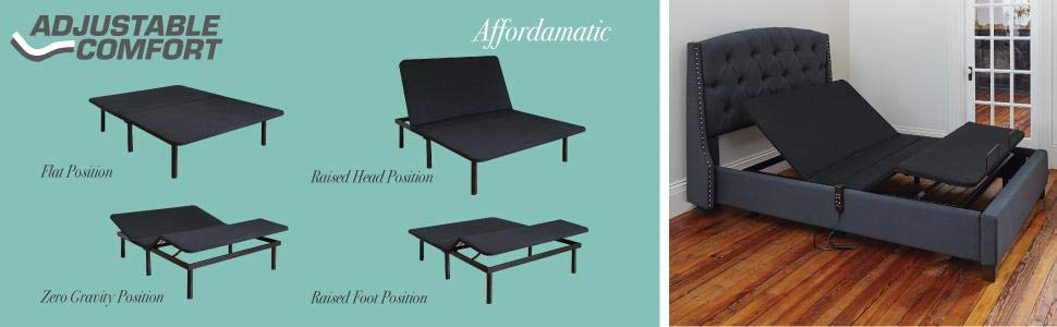 Classic Brands Adjustable Bed Review - Affordamatic Features