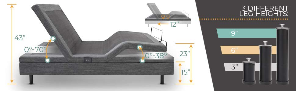Classic Brands Adjustable Bed Review - Comfort Posture+