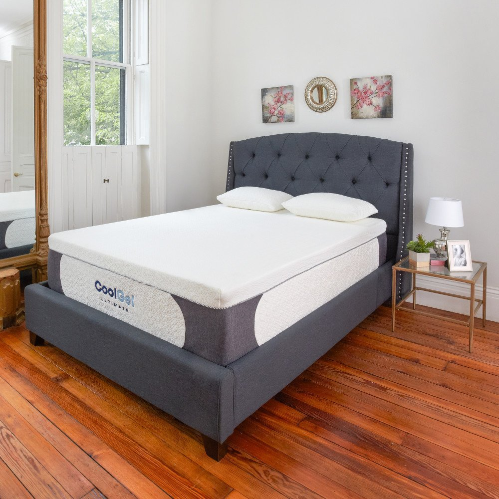 Classic Brands Cool Gel Ultimate Gel Memory Foam 14-Inch Mattress with BONUS 2 Pillows Review