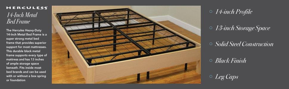 Classic Brands Hercules Bed Frame Reviews – Features