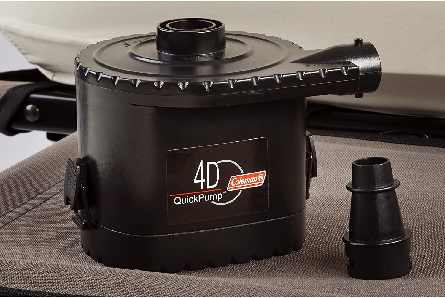 Coleman Airbed Cot Reviews - 4D Battery Pump