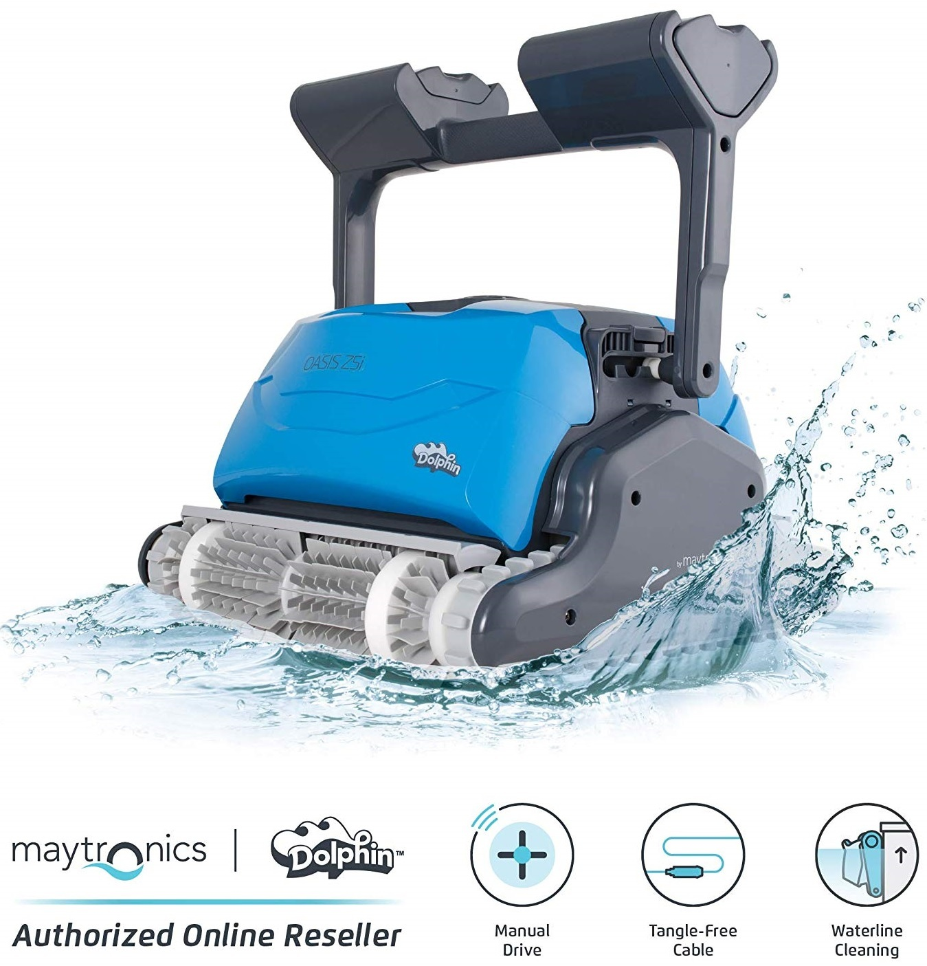DOLPHIN Oasis Z5i Robotic Pool Cleaner Reviews