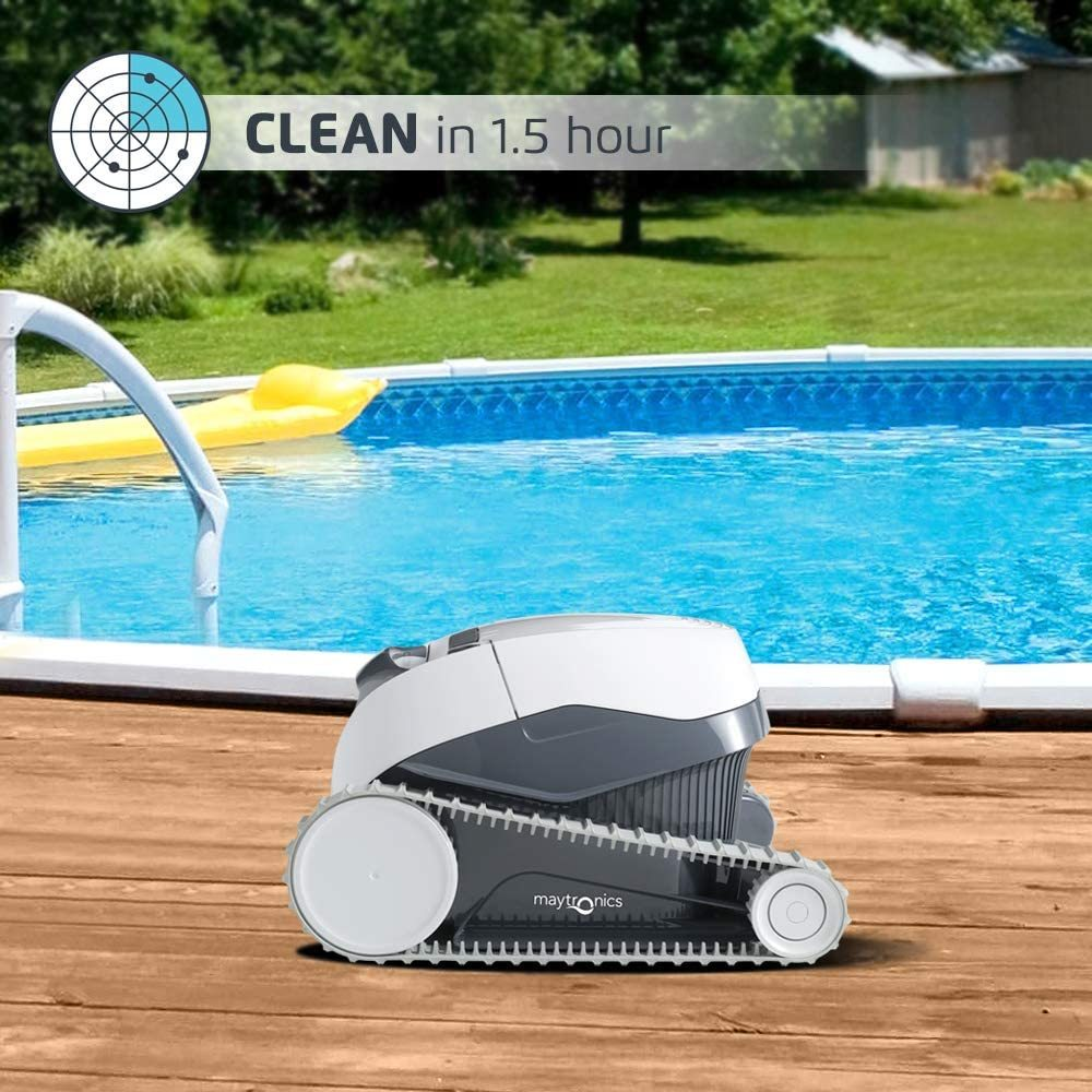 Dolphin E10 Automatic Robotic Pool Cleaner Review - Cleaning cycle and time