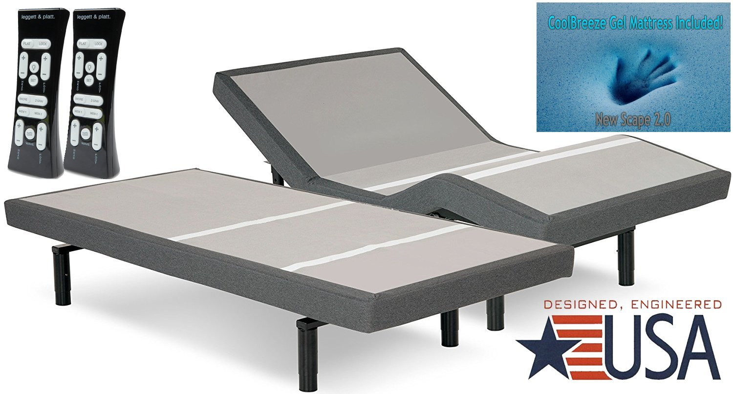 Dual Massage Leggett & Platt Prodigy 2.0 Split Adjustable Bed