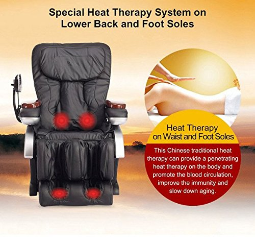 Electric Full Body Shiatsu Massage Chair Review - Heat Therapy