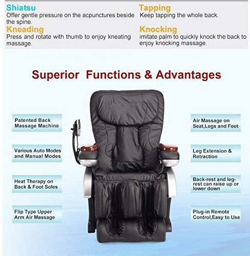 Electric Full Body Shiatsu Massage Chair Review