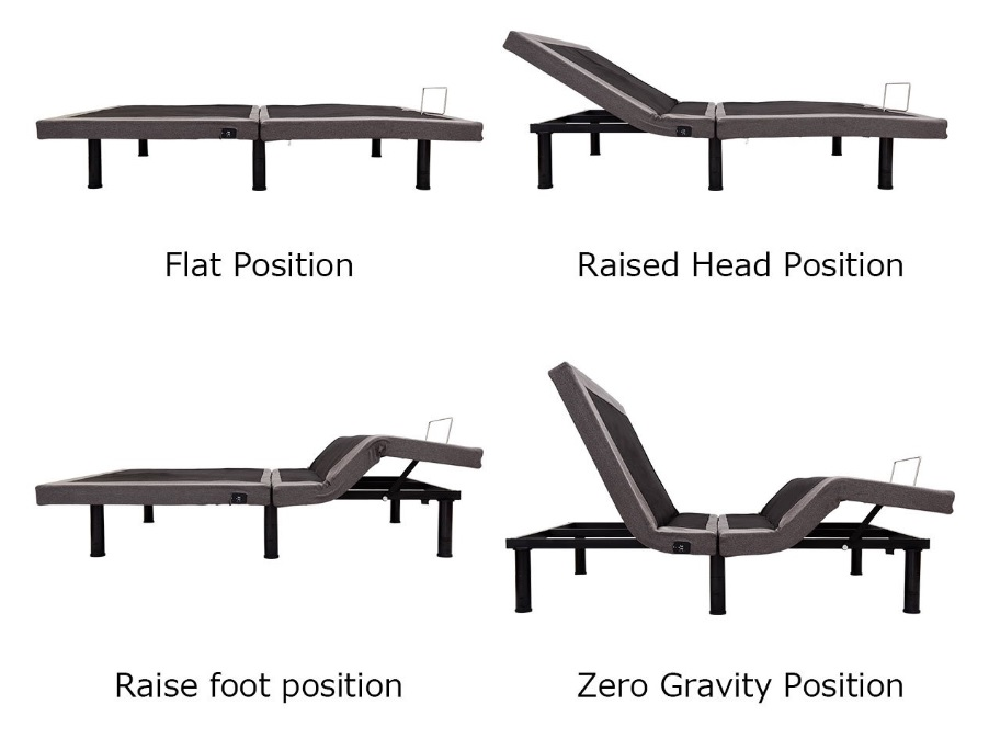 Giantex Adjustable Bed Reviews - Adjustments