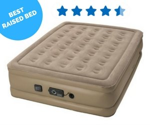 Insta Bed Raised Air Mattress with Never Flat Pump Review 2017