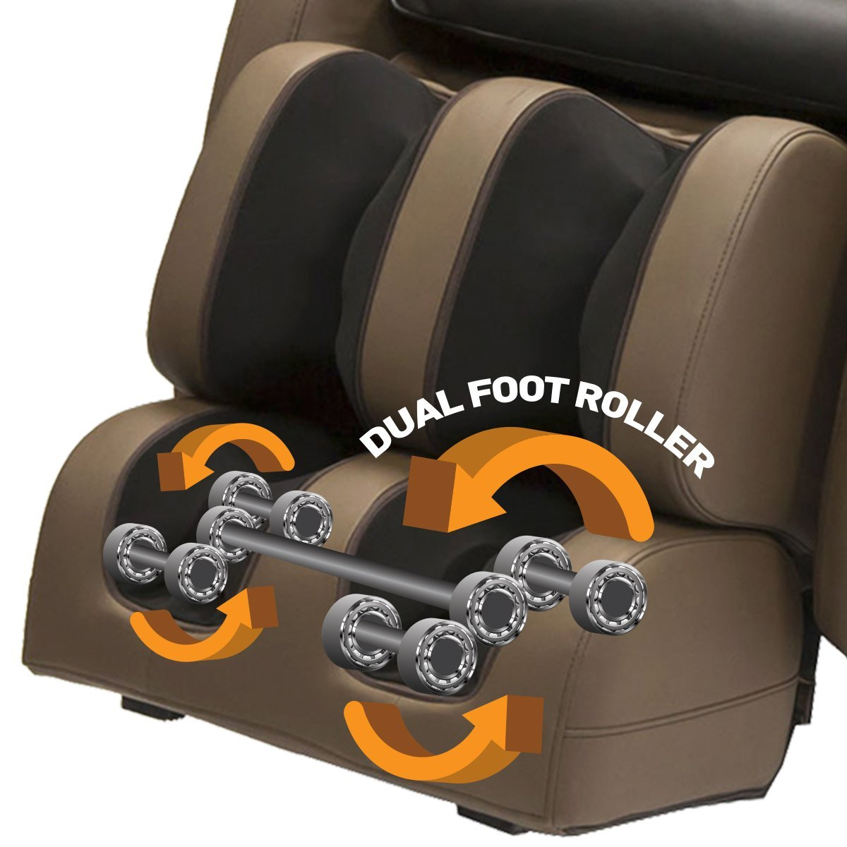 Kahuna LM6800 Dual Foot Massage Rollers - Kahuna Massage Chair Reviews