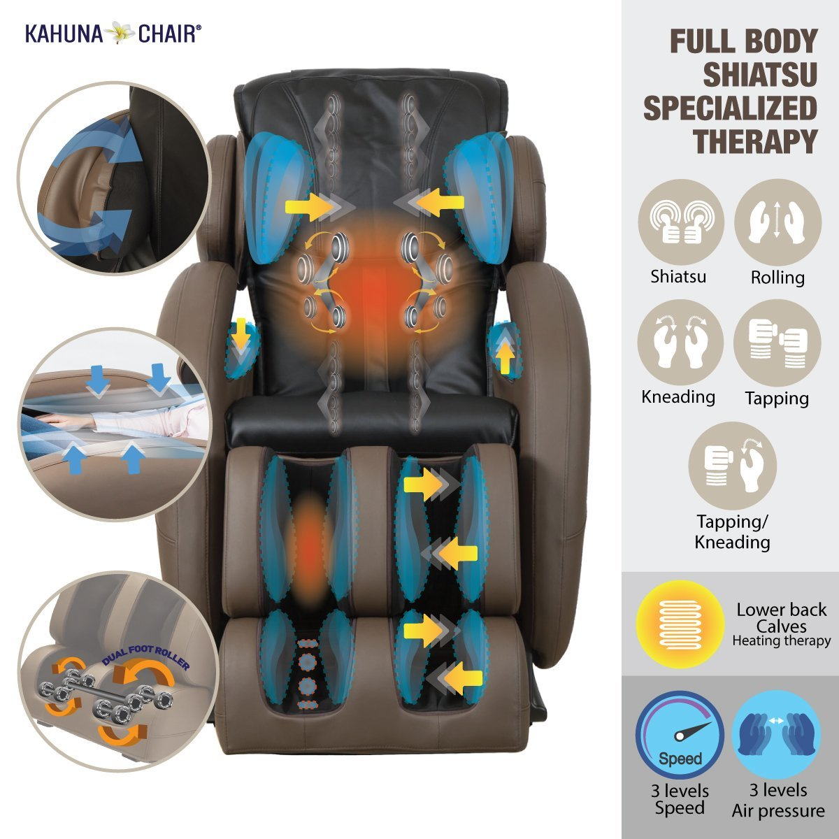 Kahuna LM6800 Full Body Massage - Kahuna Massage Chair Reviews