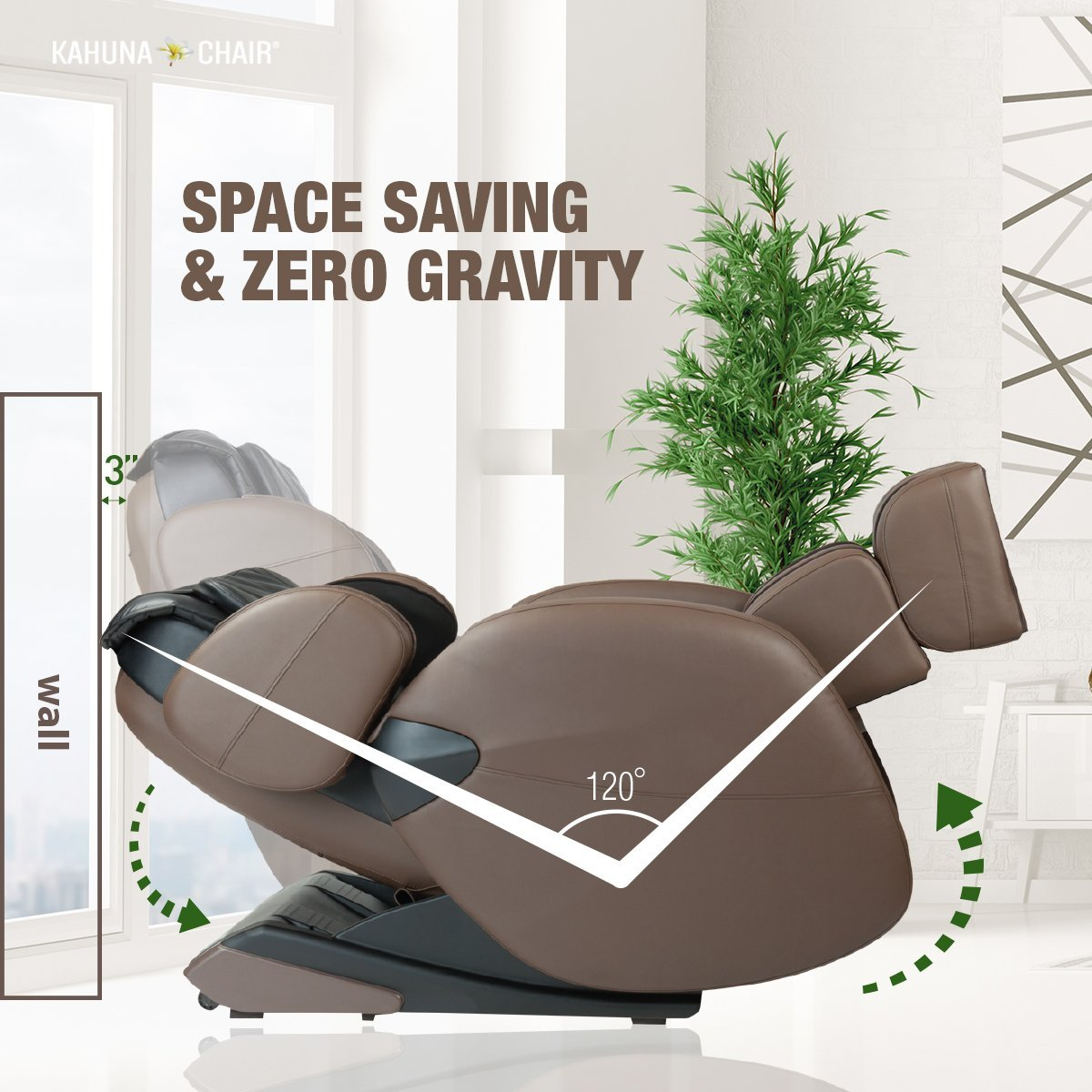 Kahuna LM6800 Space Saving & Zero-Gravity - Kahuna Massage Chair Reviews
