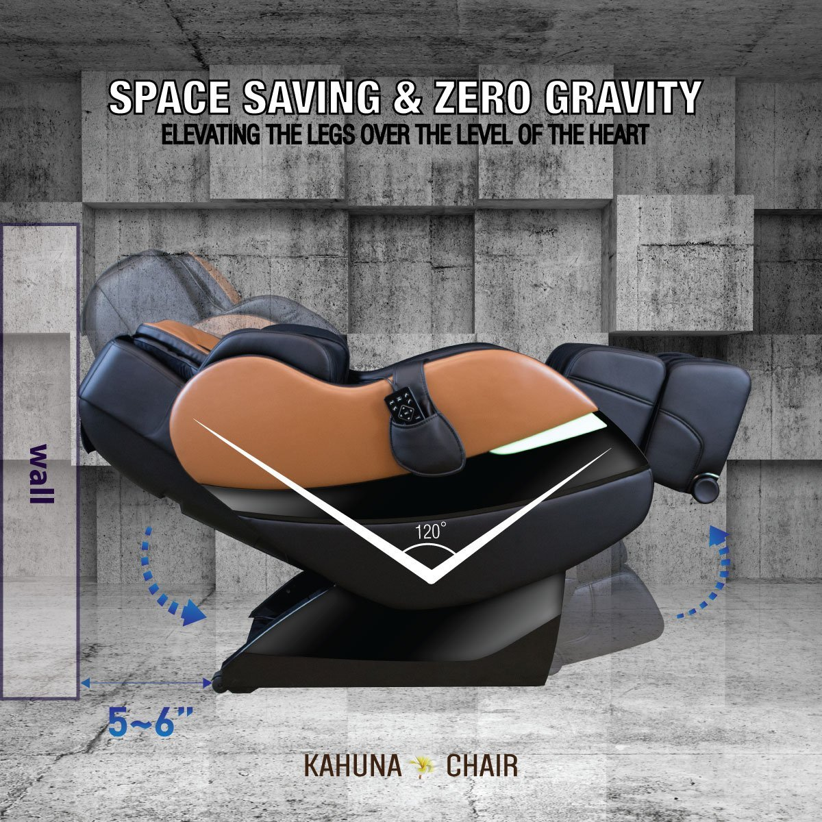 Kahuna SM7300 Space Saving & Zero Gravity - Kahuna Massage Chair Reviews