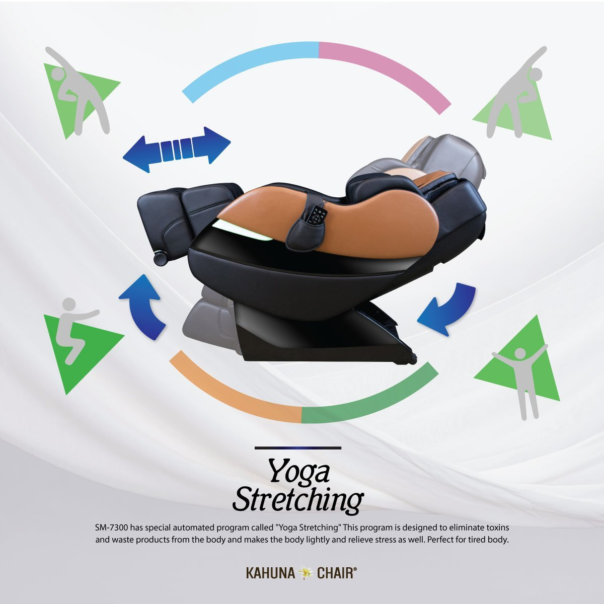 Kahuna SM7300 Yoga Stretching - Kahuna Massage Chair Reviews
