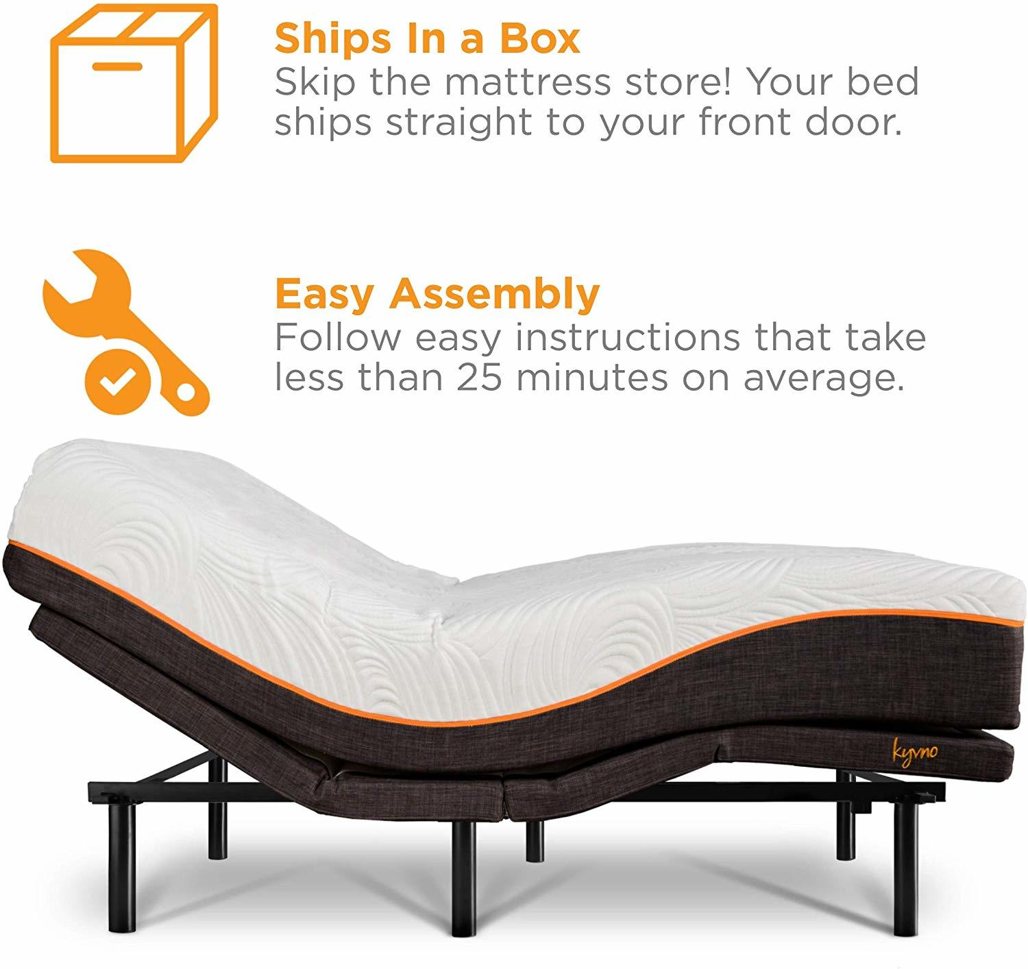 Kyvno Adjustable Bed Reviews - Assembly