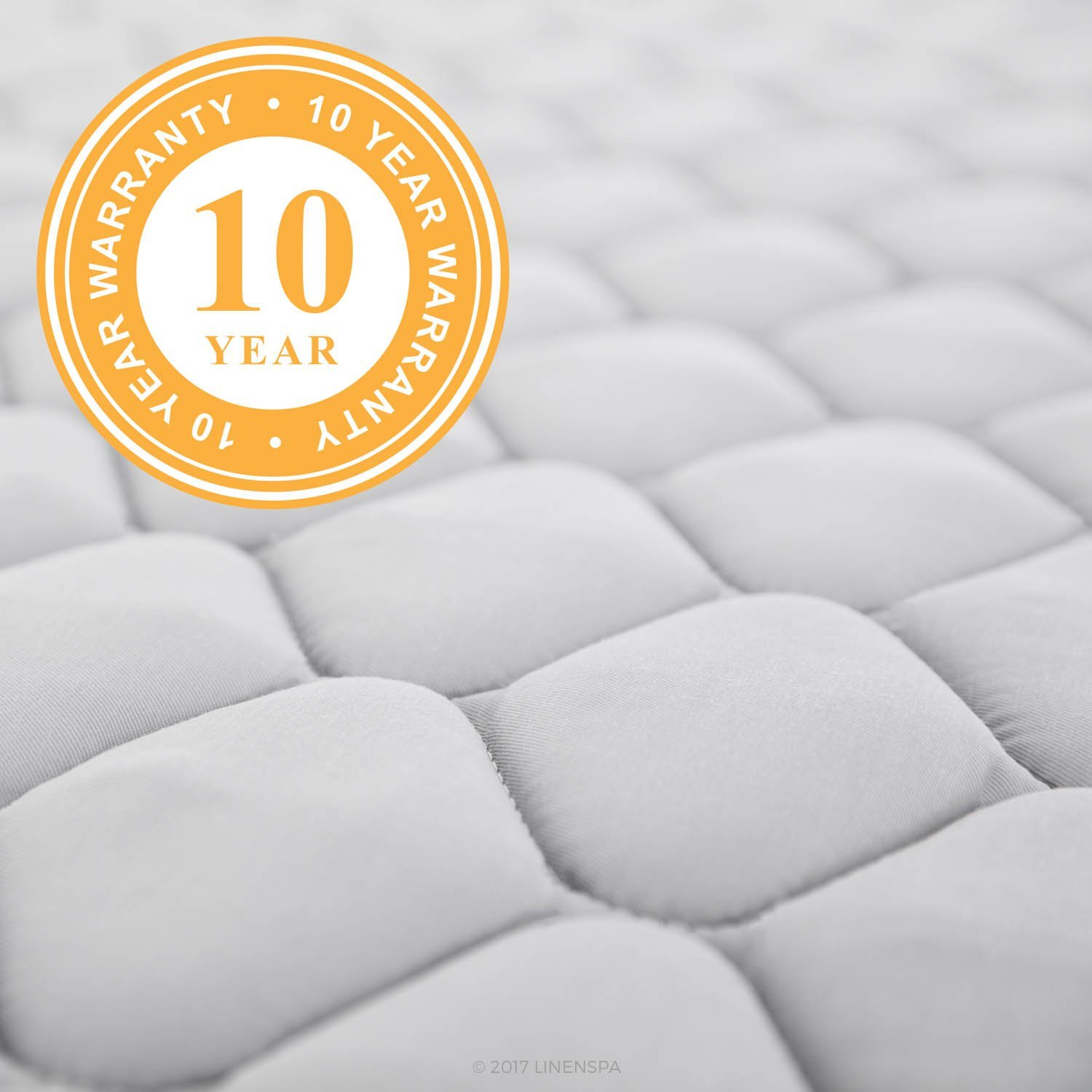 LinenSpa 6 Inch Innerspring Mattress Warranty